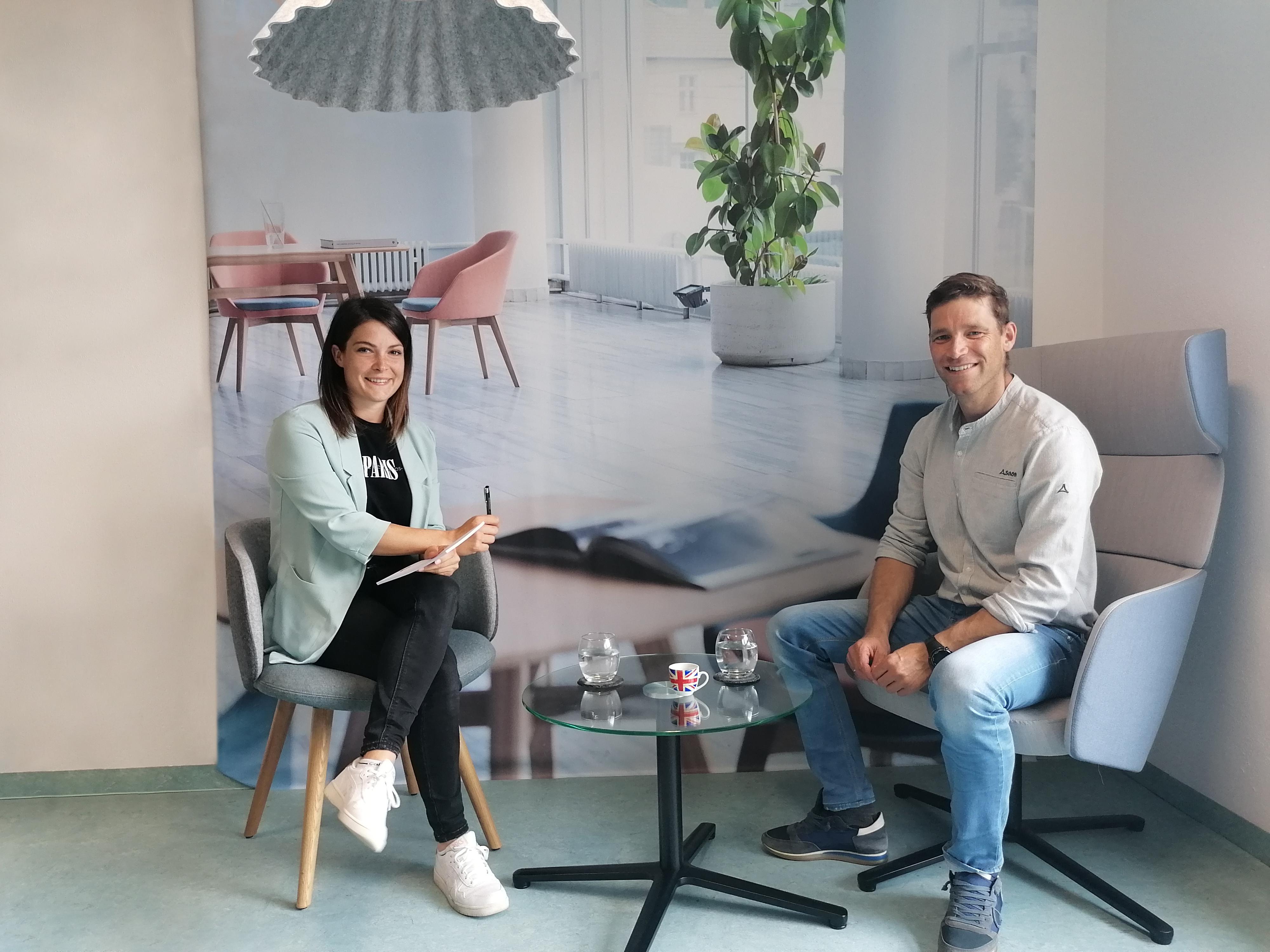 Benni Raich im Interview zu mehr Bewegung im Büro
