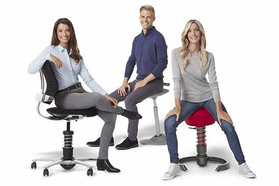 Dynamisches Sitzen – Eine der wichtigsten Grundvoraussetzungen für einen gesunden Arbeitsplatz