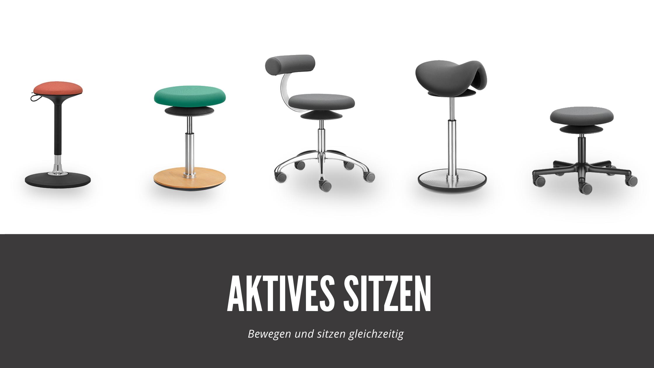 Aktives Sitzen - Bewegen und sitzen gleichzeitig