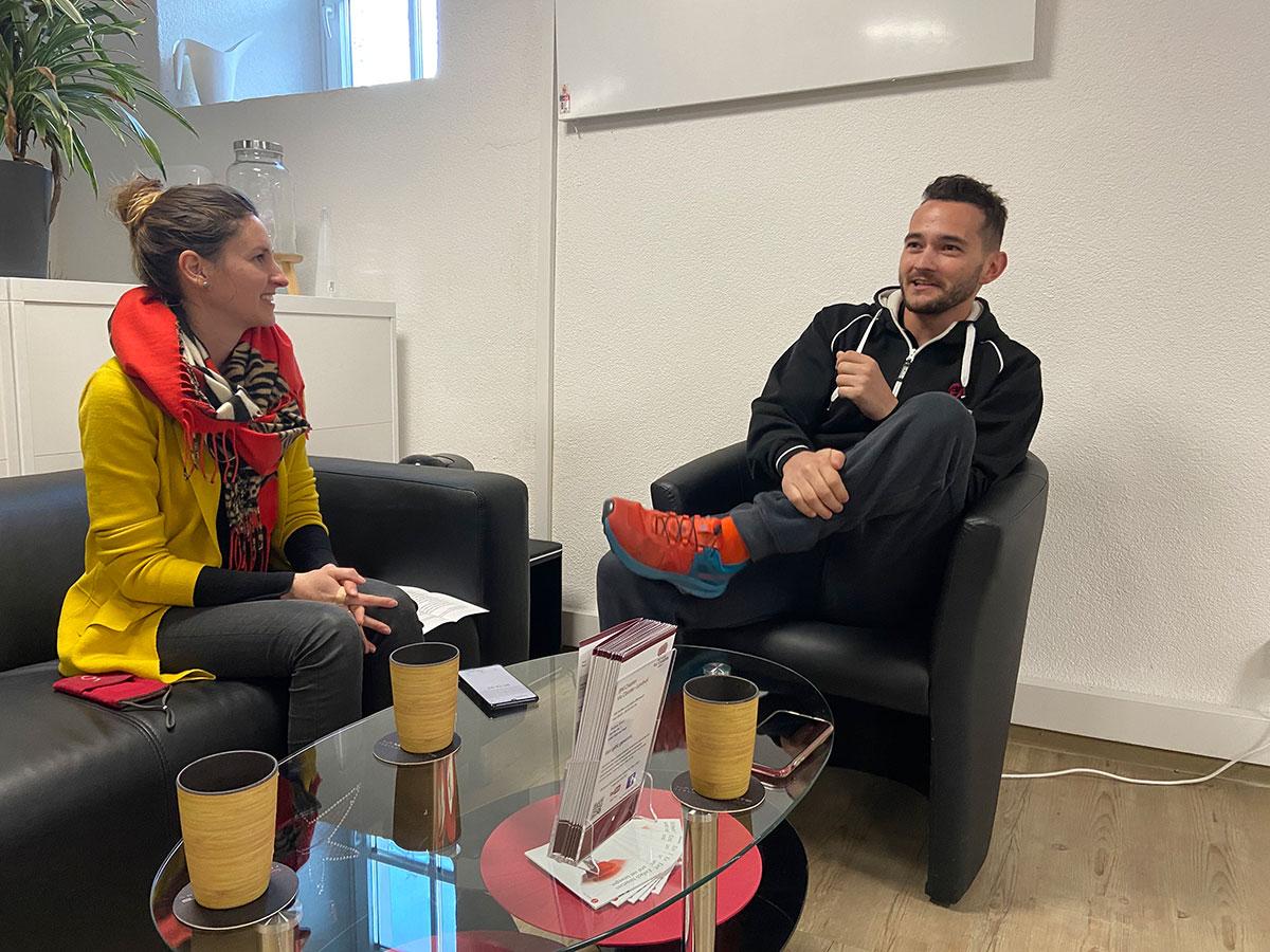 Interview mit einem Fitnesstrainer